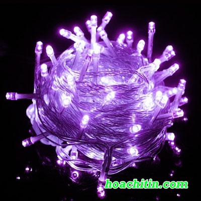 Đèn LED Nhấp Nháy 5m Tím