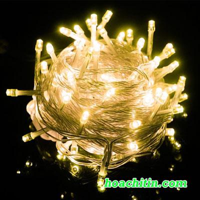 Đèn LED Nhấp Nháy 5m Vàng Nắng