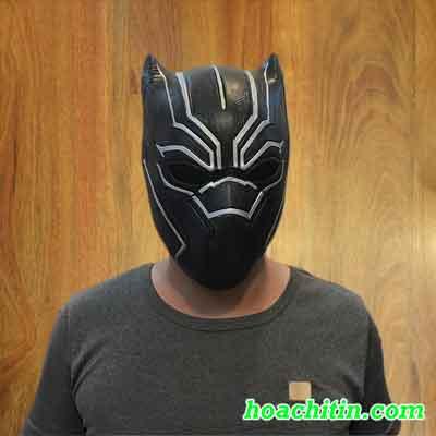 Mặt Nạ Da Báo Đen Black Panther