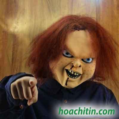 Mặt Nạ Da Búp Bê Chucky