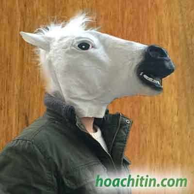 Mặt Nạ Da Ngựa Trắng