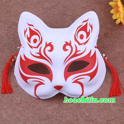 Mặt Nạ Mèo Cáo Đỏ Mẫu 1
