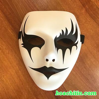 Mặt Nạ HipHop Jabbawockeez Vẽ Miệng Mỏng