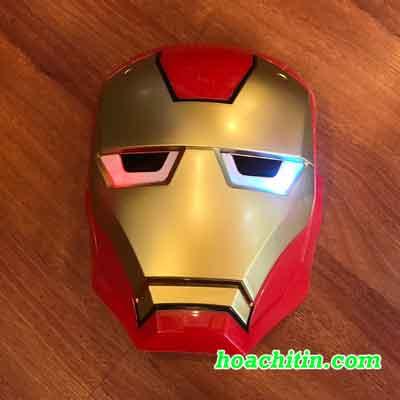 Mặt Nạ Người Sắt Iron Man Có Đèn