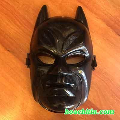 Mặt Nạ Batman Đen Nguyên Mặt