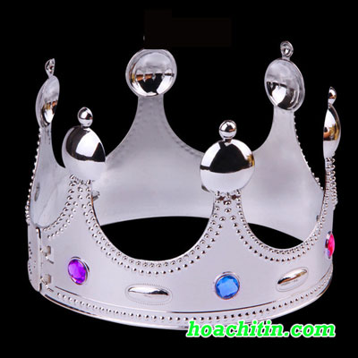 Vương Miện Nhà Vua Màu Bạc