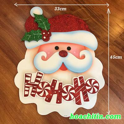 Hình Dán Đầu Ông Già Noel