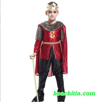 Trang Phục Hoàng Tử Size L 1m2 - 1m3( Không Kèm Gậy)
