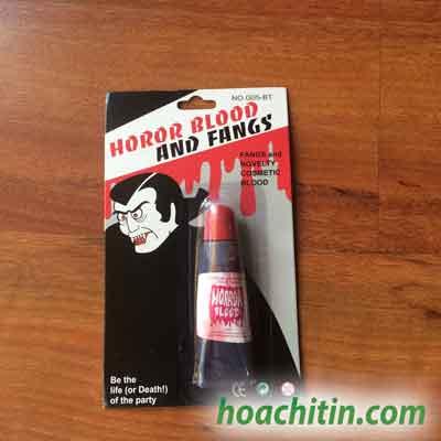Máu Giả Hóa Trang Hallowen
