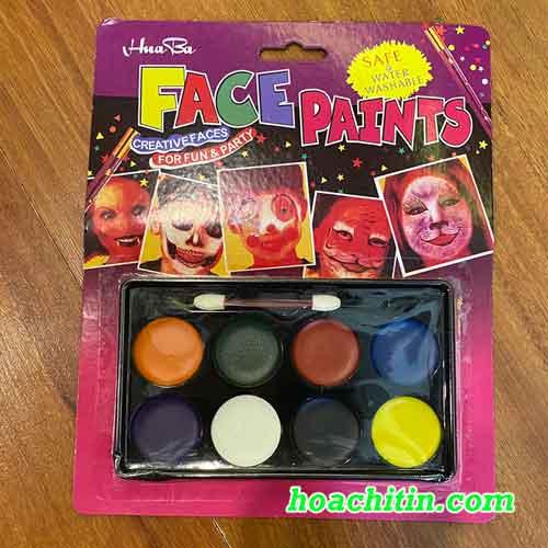 Bộ Màu Vẽ Mặt Hóa Trang Halloween
