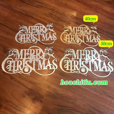 Bảng Chữ Merry Size 40cm