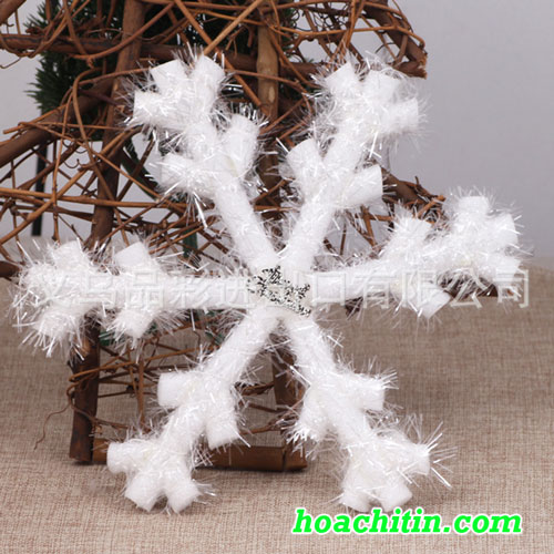 Bông Tuyết Quấn Dây Kim Tuyến