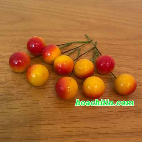 Trái Cherry Đỏ Vàng ( Bao 10 trái)