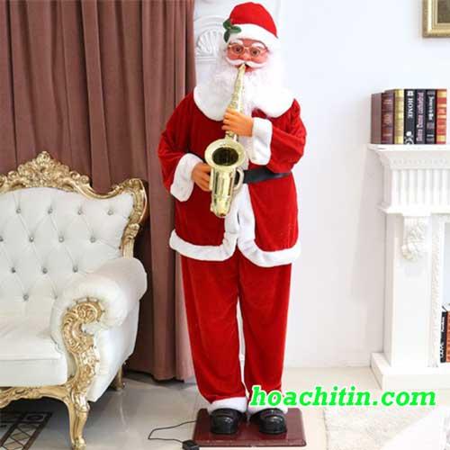 Ông Già Noel Nhạc Cầm Kèn Cao 1m8