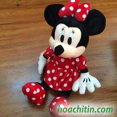 Thú nhồi bông Chuột Mickey nữ