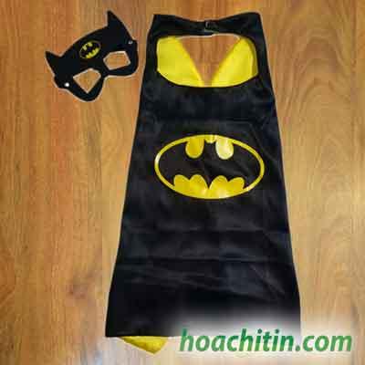Áo Choàng Mặt Nạ Batman Người Dơi Size S