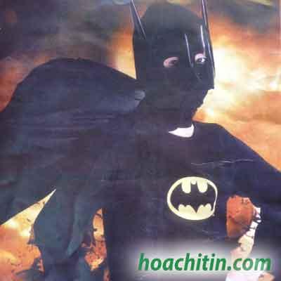 Trang Phục Người Dơi Batman Size S (1m-1m1)